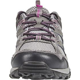 Columbia Plains Ridge Chaussures Femme, light grey/intense violet